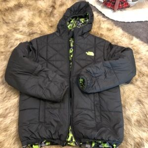 The North Face double sided winter jacket